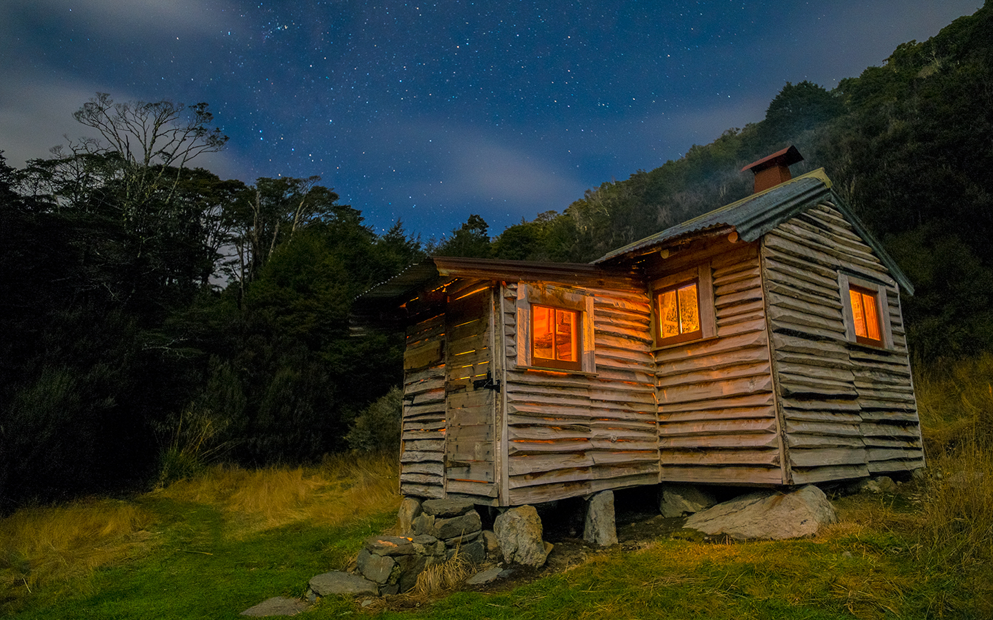 Chaffey Hut, Kahurangi National Park